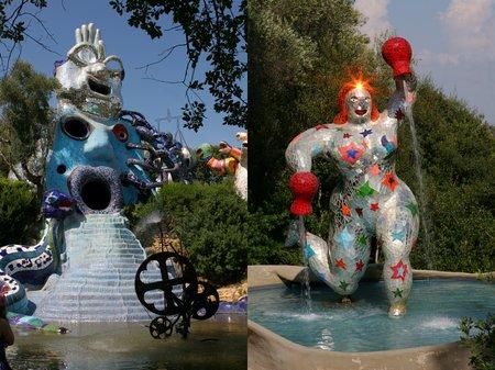Niki de Saint Phalle in der Maremma