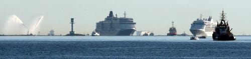 Die Queen in Kiel