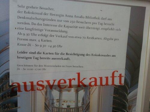 Nochmal Weimar
