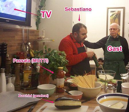 Encora cucinare con Sebastiano