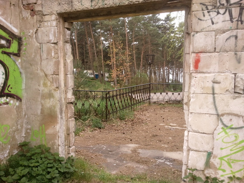 Hingesunken zu Ruinen