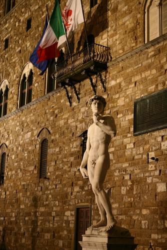David vor dem Palazzo Vechio