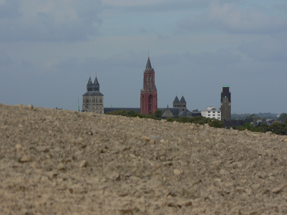 Maastrichts Türme vom Sint Pietersberg