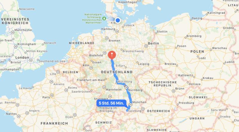 Von Murnau nach Hofgeismar⛅️🚙